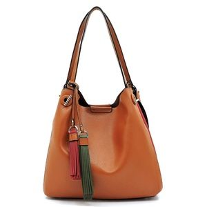 Handbags - NEW Multi Striped Shoulder Bag Hobo